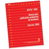 NFPA-1001E(08): Normas para calificacion profesional de bomberos