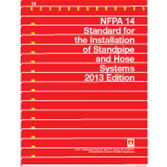 NFPA-14(13): Standard for the Installation of Standpipe and Hose Systems