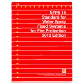 NFPA-15(12): Standard for Water Spray Fixed Systems for Fire Protection