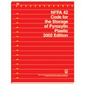 NFPA-42(02): Code for the Storage of Pyroxylin Plastic