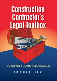 ACI-TBOX Construction Contractor's Legal Toolbox - Contracts, Claims, Negotiations