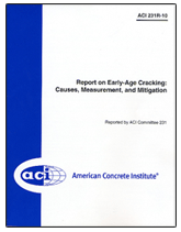 ACI-231R-10 Report on Early-Age Cracking: Causes, Measurement and Mitigation