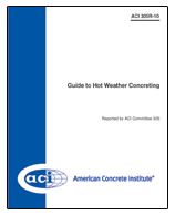 ACI-305R-10 Guide to Hot Weather Concreting