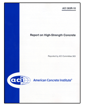 ACI-363R-10 Report on High-Strength Concrete
