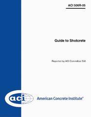 ACI-506R-16 Guide to Shotcrete