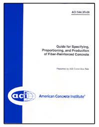 ACI-544.1R-96 Report on Fiber Reinforced Concrete (Reapproved 2009)