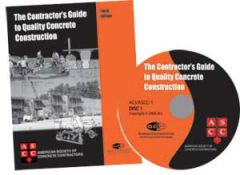 ACI-ASCC-1(05)-BKCD The Contractor's Guide to Quality Concrete Construction - Third Edition - Book and Audio CD