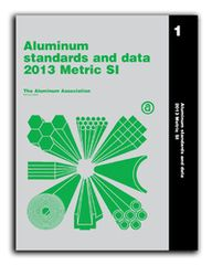 AA-ASD2013MET Aluminum Standards & Data, 2013 Metric Book