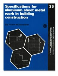 AA-ASM-35 Specifications for Aluminum Sheet Metal Work