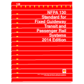 NFPA-130(14): Standard for Fixed Guideway Transit and Passenger Rail Systems