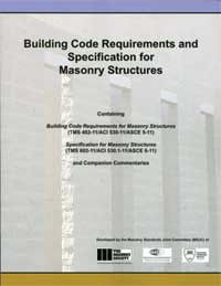 ACI-530/530.1-11: Building Code Requirements and Specification for Masonry Structures and Related Commentaries