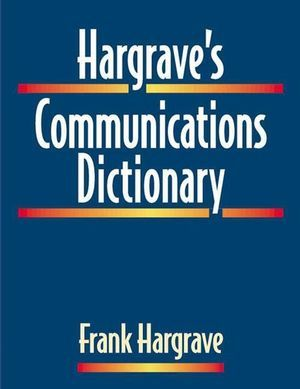 IEEE-36020-4 Hargrave's Communications Dictionary