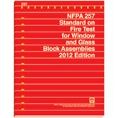 NFPA-257(12): Standard on Fire Test for Window and Glass Block Assemblies