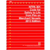 NFPA-301(13): Code for Safety to Life from Fire on Merchant Vessels