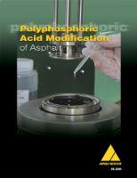AI-IS-220 Polyphosphoric Acid Modification of Asphalt