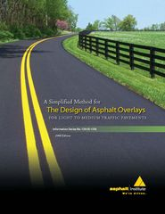 AI-IS-139 A Simplified Method for The Design of Asphalt Overlays for Light to Medium Traffic Pavements