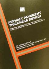 AI-IS-181 Asphalt Pavement Thickness Design