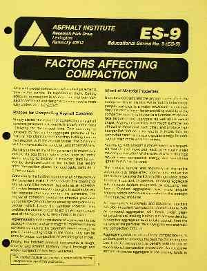 AI-ES-9 Factors Affecting Compaction