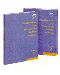 ASM-06391G Handbook of Case Histories in Failure Analysis, Two-Volume Set
