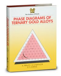 ASM-57730G Phase Diagrams of Ternary Gold Alloys