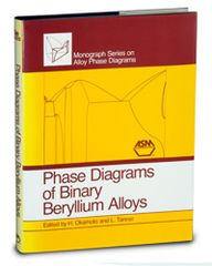 ASM-57705G Phase Diagrams of Binary Beryllium Alloys