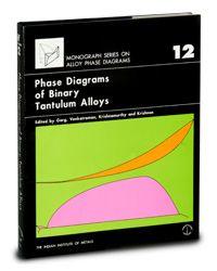 ASM-57759G Phase Diagrams of Binary Tantalum Alloys