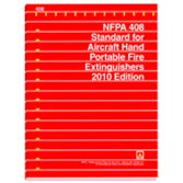 NFPA-408(10): Standard for Aircraft Hand Portable Fire Extinguishers