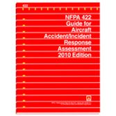 NFPA-422(10): Guide for Aircraft Accident-Incident Response Assessment