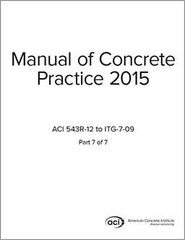 ACI-MCP-7(15) Manual of Concrete Practice Part 7 (2015)