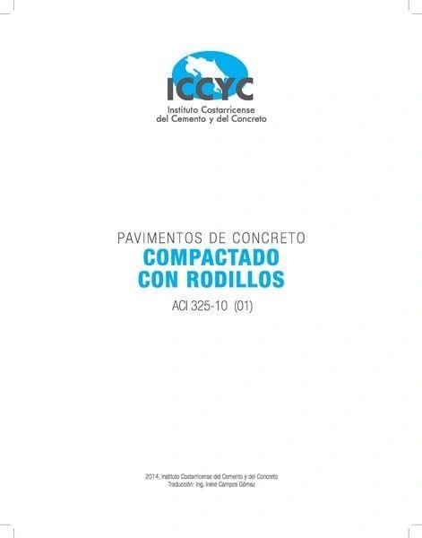 ACI-325.10RS(01) Pavimentos de Concreto Compactado con Rodillos