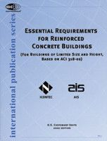ACI-IPS-1 Essential Requirements For Reinforced Concrete Buildings
