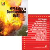 NFPA-SET187 2013 NFPA 654 and NFPA Guide to Combustible Dust Set