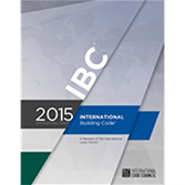 NFPA-RES26615 International Building Code, 2015 Edition