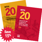 NFPA-20(16)(HBK) Standard for the Installation of Stationary Pumps for Fire Protection (Handbook)