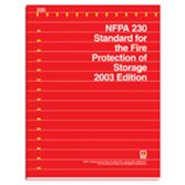 NFPA-230(03) Standard for the Fire Protection of Storage