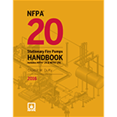 NFPA-20HB16K Stationary Fire Pumps Handbook