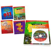 NFPA-FSBWDVD Let's Hear It For Fire Safety Kids Brochures and DVD Set