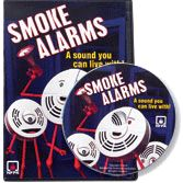 NFPA-VC108DVD Smoke Alarms: A sound you can live with! DVD