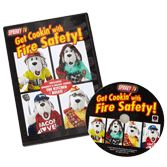 NFPA-VC112DVD Sparky's Get Cookin' with Fire Safety (DVD)