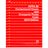 NFPA-55(16): Compressed Gases and Cryogenic Fluids Code