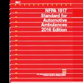NFPA-1917(16) Standard for Automotive Ambulances