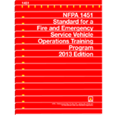 NFPA-1451(13): Standard for a Fire, Emergency Service Vehicle Operations Training Program