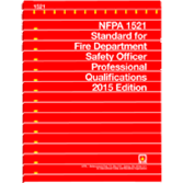 NFPA-1521(15): Standard for Fire Department Safety Officer Professional Qualifications