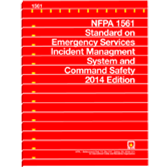 NFPA-1561(14): Standard on Emergency Services Incident Management System and Command Safety