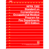 NFPA-1582(13): Standard on Comprehensive Occupational Medical Program for Fire Departments