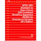 NFPA-1981(13): Standard on Open-Circuit Self-Contained Breathing Apparatus (SCBA) for Emergency Services
