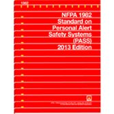 NFPA-1982(13): Standard on Personal Alert Safety Systems (PASS)