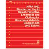 NFPA-1992(12): Standard on Liquid Splash-Protective Ensembles and Clothing for Hazardous Materials Emergencies