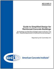 ACI-314R-11 Guide to Simplified Design for Reinforced Concrete Buildings