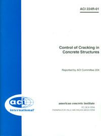 ACI-224R-01 Control of Cracking in Concrete Structures (Reapproved 2008)